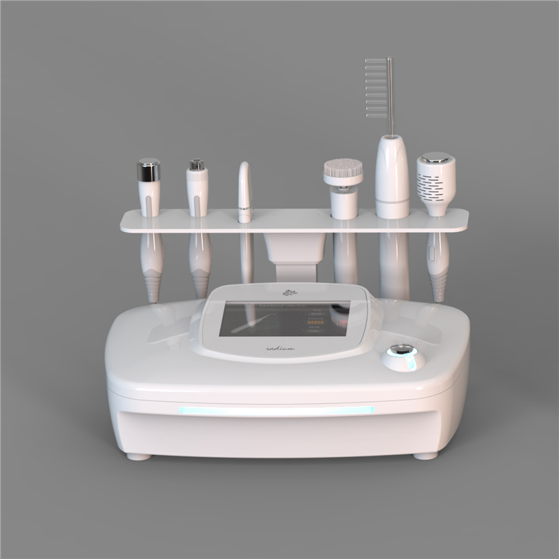 Newest A-20203 6 in 1 Skin care Beauty Instrument RF Ultrasonic Facial Machine Beauty Salon Equipment