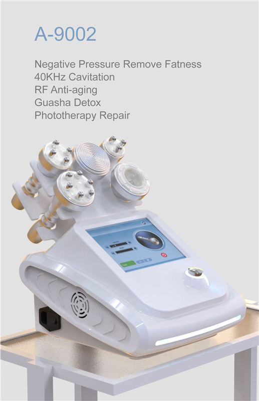 Radium A-9002   Negative Pressure Remove Fatness RF Anti-aging Lifting 40KHz Cavitation Slimming Machine